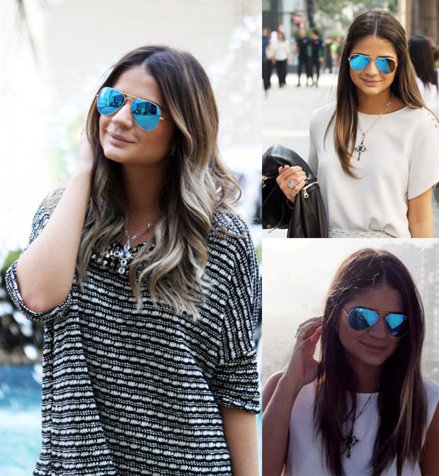 6dedf4b14b112 Aprenda a usar óculos espelhados