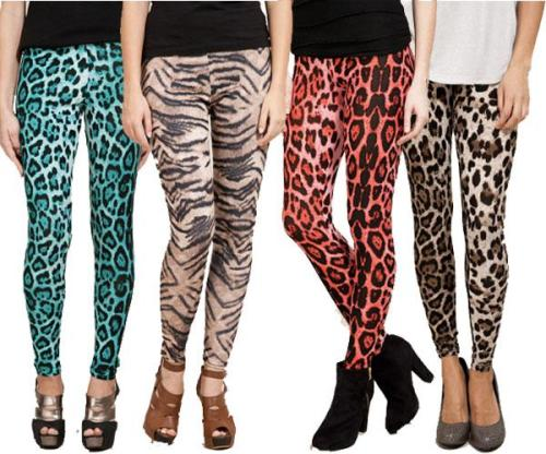 Animal-print-leggings