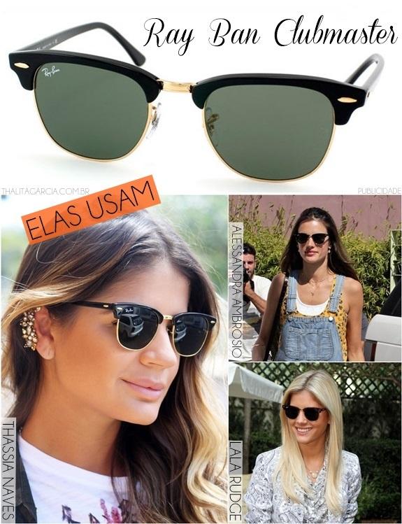 A febre do Clubmaster  os óculos preferidos das famosas – QuaseNovo ... bccce9885a