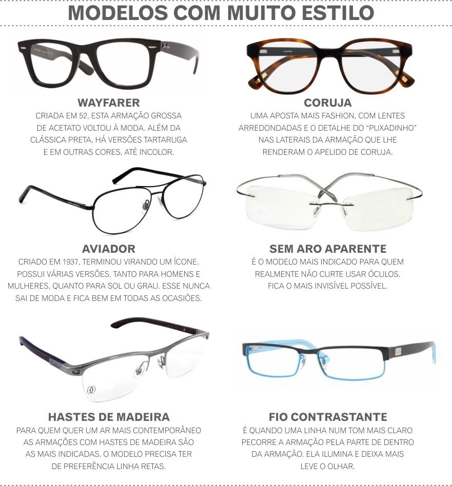 Se você que óculos coloridos, análise a cor correta para você. A maioria  das pessoas opta por cores neutras ou casuais, fáceis de combinar com  qualquer tipo ... b7852f0cac
